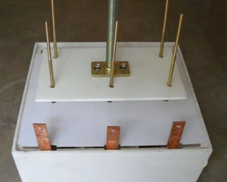 水阻柜专用电水箱和极板